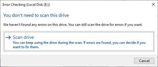 مشکل کپی نشدن فایل در ویندوز