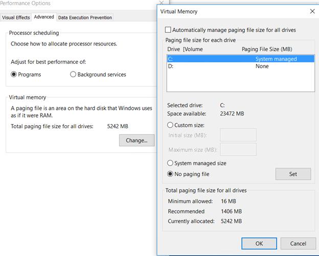 رفع مشکل 100 درصد شدن دیسک در ویندوز
