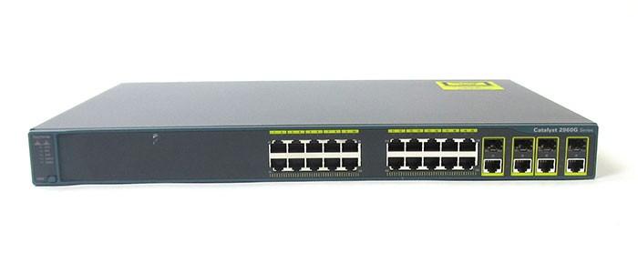 سوئیچ شبکه سیسکو 24 پورت WS-C2960G-24TC-L