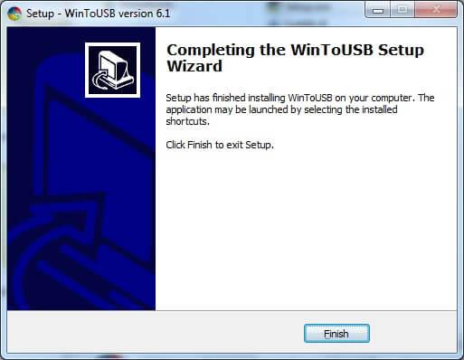 نصب نرم افزار برای داشتن ویندوز قابل حمل در حافظه USB