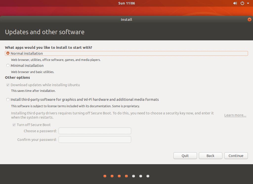 آموزش نصب سیستم عامل اوبونتو