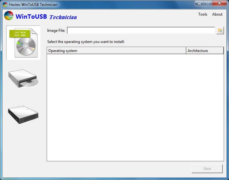 آموزش نرم افزار WinToUSB