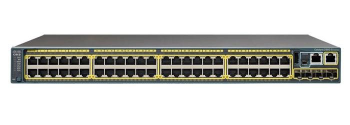 سوئیچ شبکه سیسکو 48 پورت WS-C2960S-48TS-L
