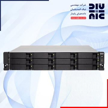 ذخیره ساز تحت شبکهکیونپ مدل TS-1273U-RP-8G